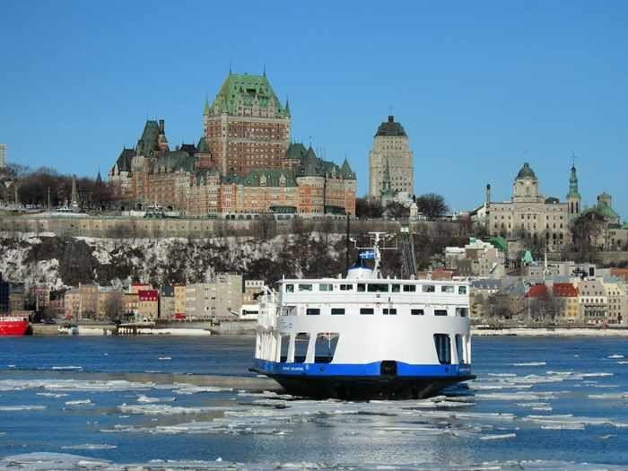 Québec-Lévis Ferry | Credit:  Société des traversiers du Québec