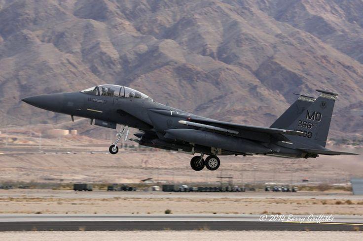 "McDonnell Douglas F-15E Strike Eagle USAF 91-0300 391st FS ""Bold Tigers"" 366th FW ""Gunfighters"", 366th OG MO Mountain Home AFB, ID"