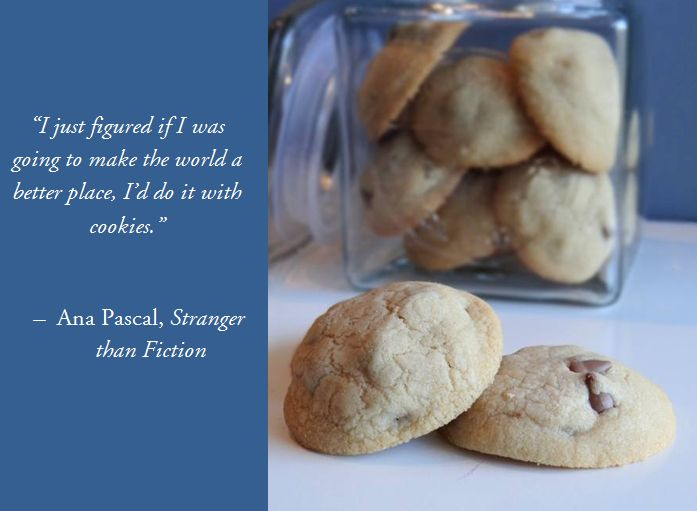 chocolate chip cookie quote   ... & Cake   Bake, Eat, Write, Read: Coconut Oil Chocolate Chip Cookies
