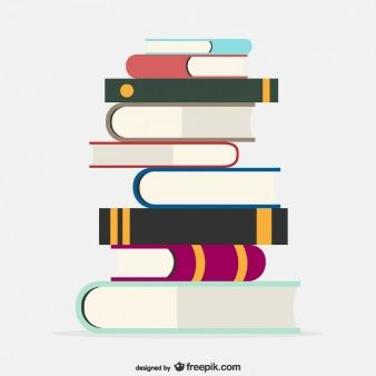 School books vector template