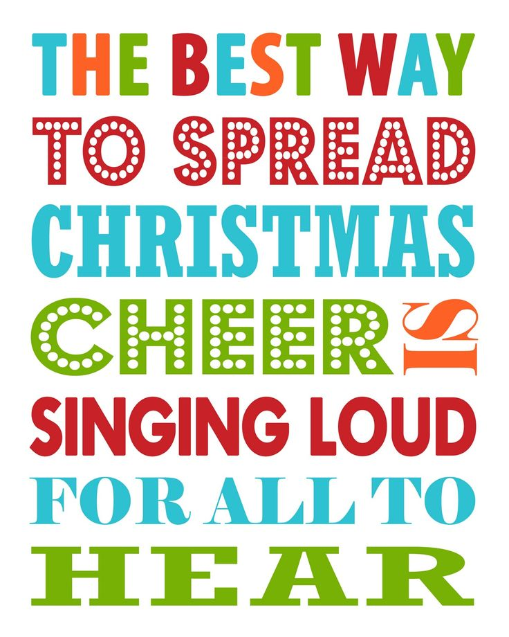 Inviting Printables: Free Christmas Printable - The Best way to spread Christmas Cheer. I love Elf!!! I am totally putting this up in my house somewhere this Christmas :)