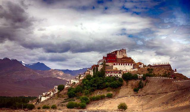 View of Thiksey Monastery | 101 things to do in Leh