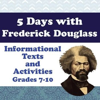 This biographical resource about Frederick Douglass includes four informational texts with comprehension and opinion questions and a language use question, a quiz, and an intensive vocabulary activity.--- Each of the four passages can be used one at a time.