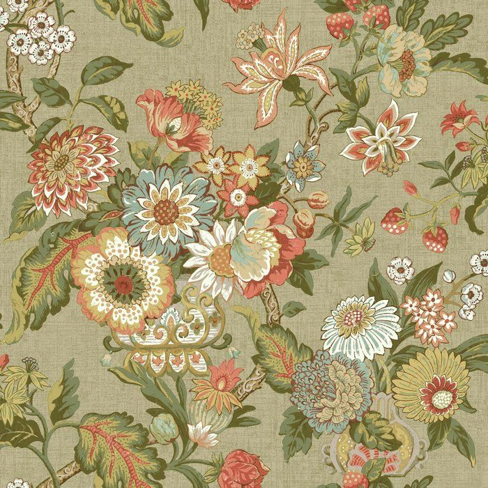 """Waverly Global Chic 33' x 20.5"""" Floral and Botanical"""