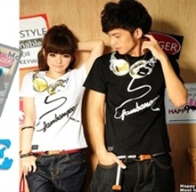 Guy abercrombie fitch asian style t shirts and lap