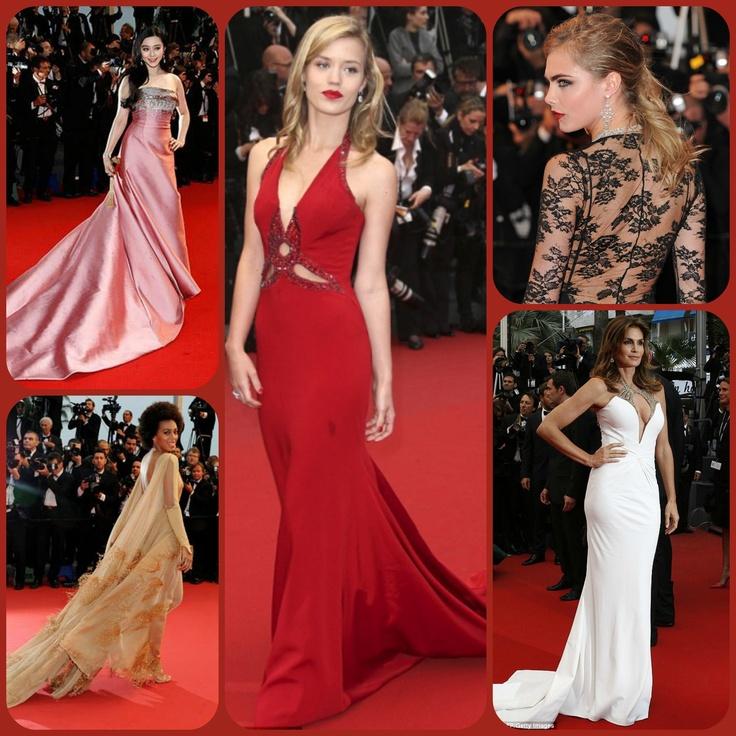 66. Cannes Film Festivali dun basladi! Kirmizi halidan gecen unlulerin gorkemli kiyafetlerinden sizin icin sectiklerimiz... #redcarpet #cannesfilmfestival #cannes2013 #caradelevingne #style #markafoni #thegreatgatsby #instafamous #celebrity #glamour #fashion