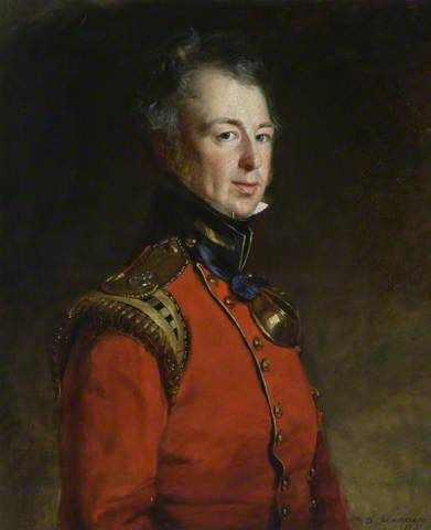 Alexander MacDuff of Bonhard (1792 - 1842) by Thomas Duncan