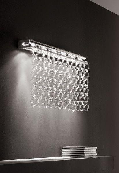 de majo lighting. direct light glass wall lamp chrie ap6 by de majo illuminazione design luca lighting i