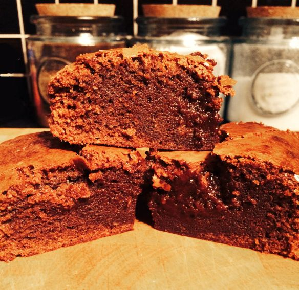 Chocolate Brownies. Simple recipe. Easy to bake. Delicious and gooey