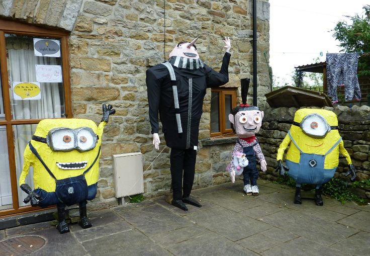 Despicable Me made a few appearances at the event.  This effort was one of the best.