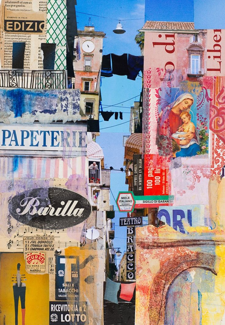 ARTFINDER: Stampato in Italia by Karen Stamper - I joined Urban Sketchers in Napoli for four intense days of sketching. Fantastic! Of course along the way I photographed and collected tickets, bits from bil...