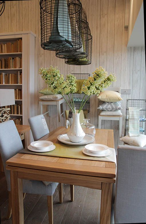 Our Copenhagen Dining Table Looks Fresh And Modern This Look Is Achieved By Using Light