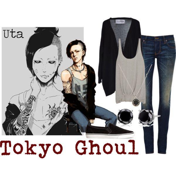 """Uta - Tokyo Ghoul"" by valeriaest on Polyvore"