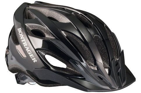 #Bontrager Solstice Helmet > Black - M/L #The Solstice Helmet by Bontrager is proof you dont have to spend a lot of money to get a great fitting, great looking, and easy-to-use helmet. Designed to be comfortable right out of the box, Solstice features Bontragers proprietary LockDown strap dividers and Micro-Manager II Fit System, making customizing your fit quick and easy. Available in two sizes for a proper fit. #fitnesssuperstore,