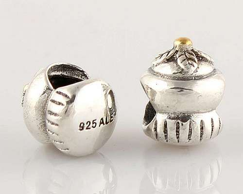 CLLW017 925 Sterling Silver Kettle Pandora beads Screwed Core Pandora House