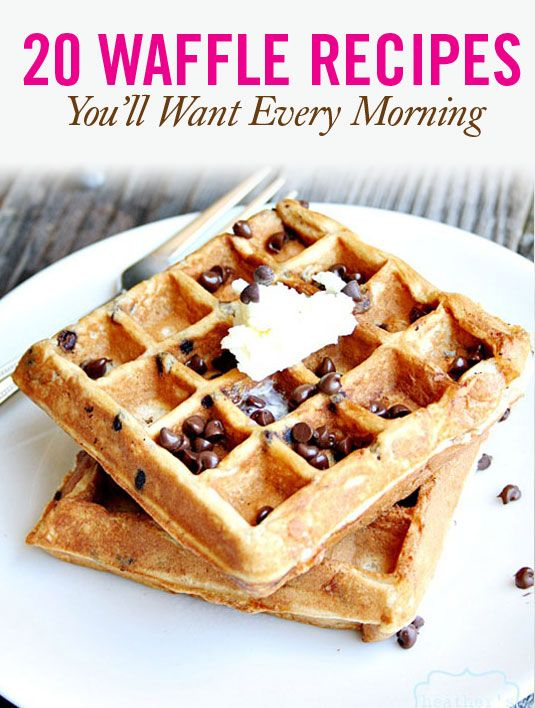 S'Mores Waffles  S'mores for breakfast? Yes, please. Especially when there is Greek yogurt involved.