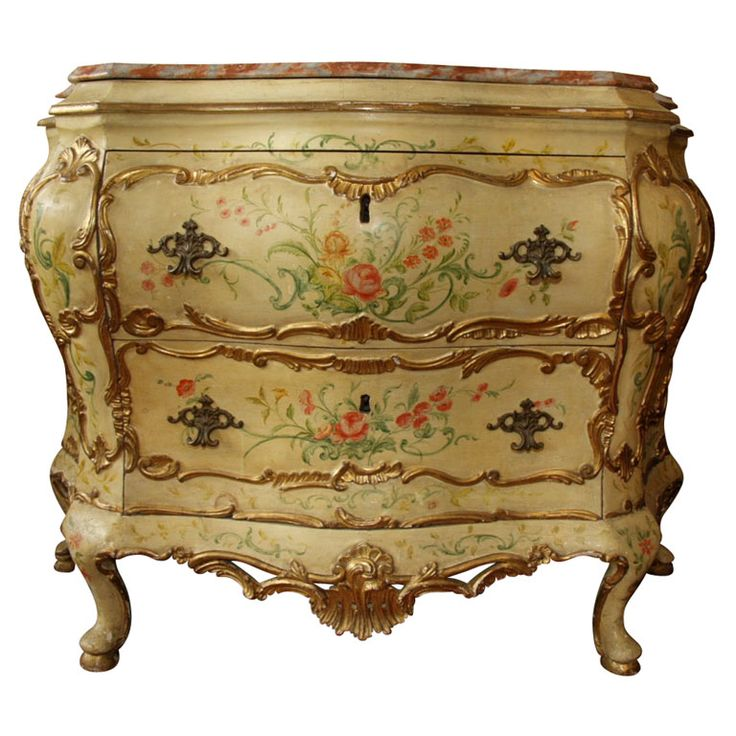18TH C. ITALIAN PAINTED COMMODE