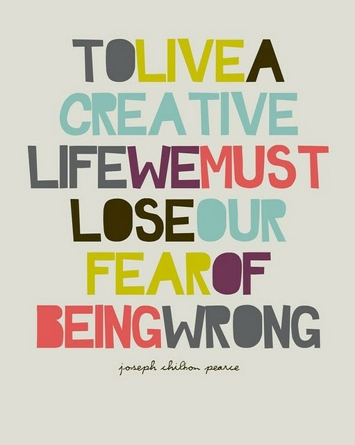 quote: Inspiration, Quotes, Creative Life, Wisdom, Thought, So True, Fear
