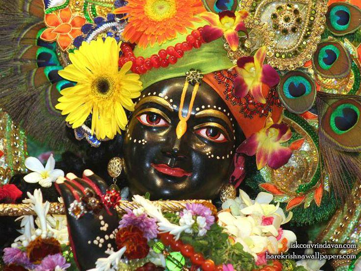 Sri Shyamsundar Close up Wallpaper