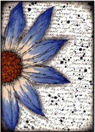 Flower Power-artist trading cards