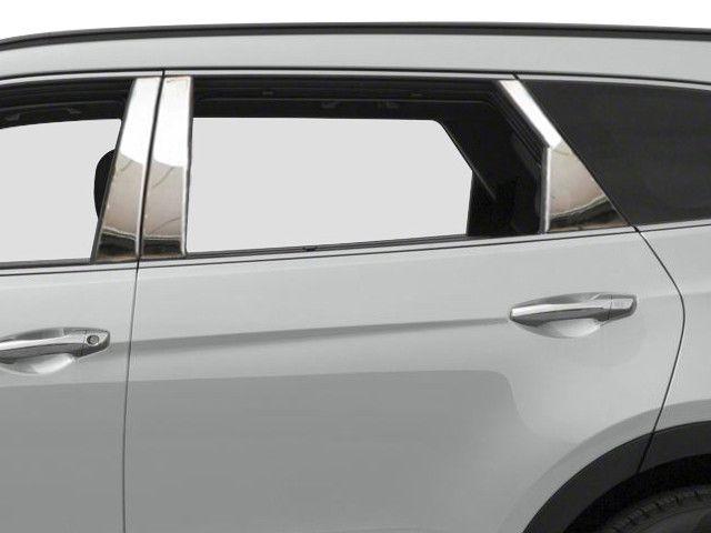 SANTA FE 2013-2016 HYUNDAI *SUV MODEL ONLY* (6 pieces: Pillar Post Trim Kit) PP13337