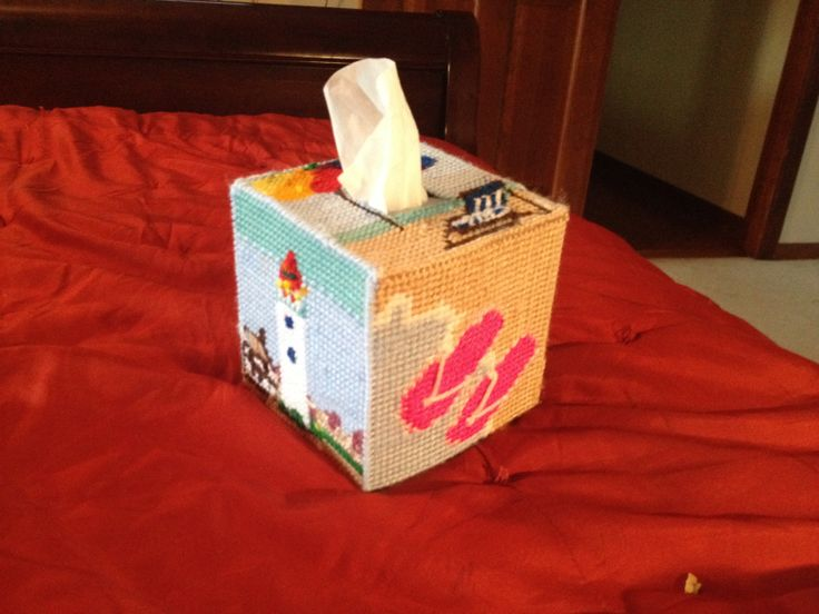 Acrylic Boxes Miami : Best images about plastic canvas tissue box covers on