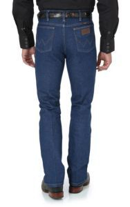 Wrangler Cowboy Cut Boot Cut Slim Fit Jeans | Cavender's