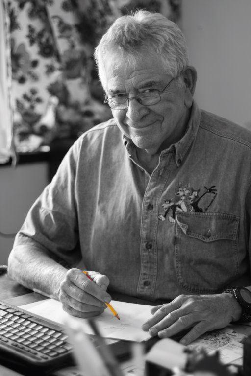 Legendary political cartoonist and author of OUT OF LINE - A MEMOIR