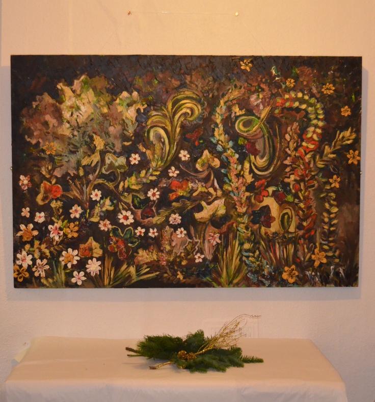Autumn,oil painting,100cm/150cm by Laura Iosifescu