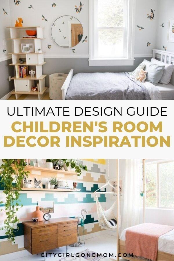 Children S Bedroom Design And Decor