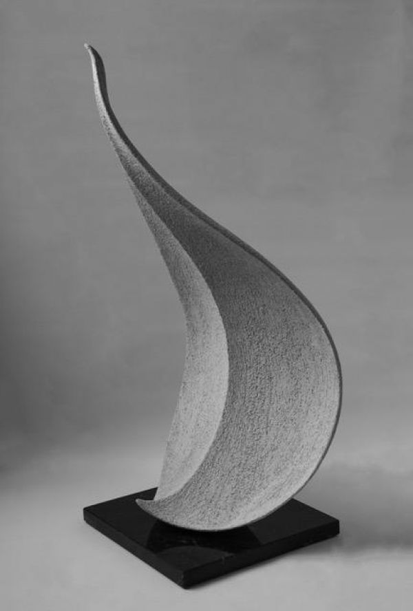 Fire Clay Sculpture By Sculptor Andrea Bucci Titled Mother Earth Abstract Leaves Petals Indoor In 2020 Contemporary Sculpture Modern Sculpture Art Deco Sculpture