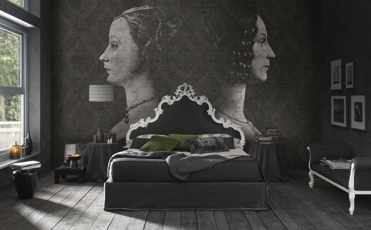 Wallpaper Model ROOM ON FIRE Designed by Riccardo Zulato for Collection 14 |  © London Art 2014  www.londonartwallpaper.com www.londonart.it