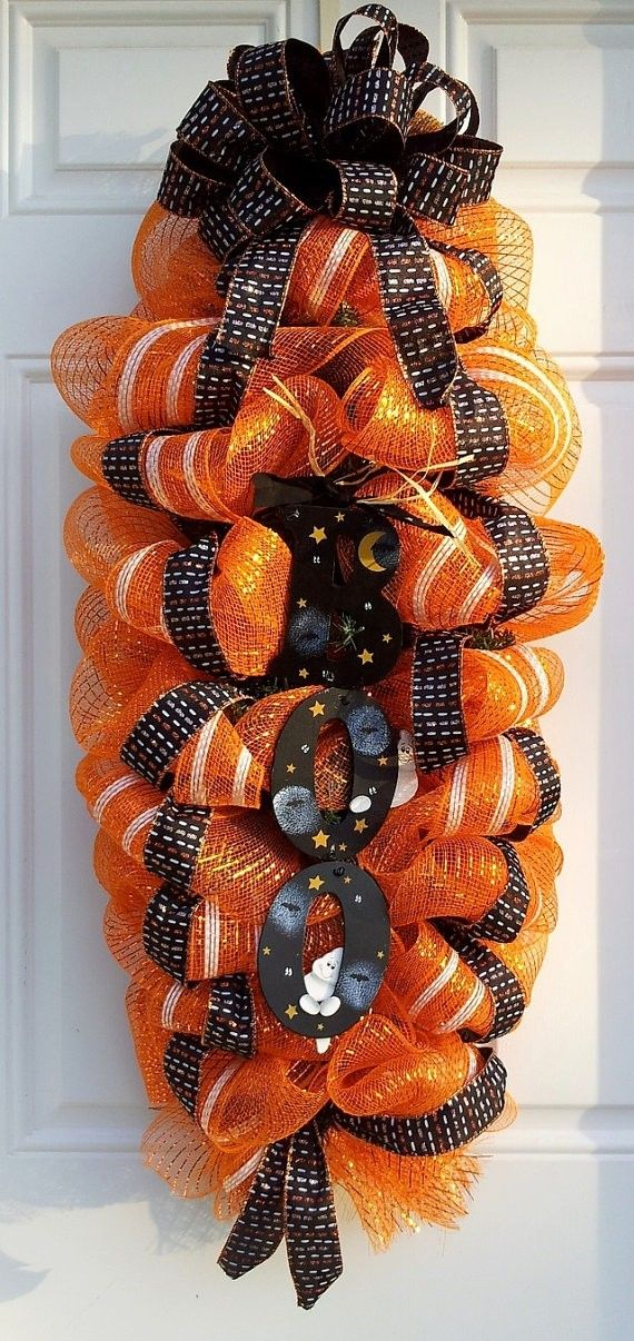 191 Best Images About Halloween Wreaths Door Swags On