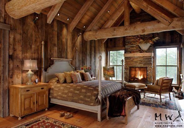 Rustic Bedroom   I Want