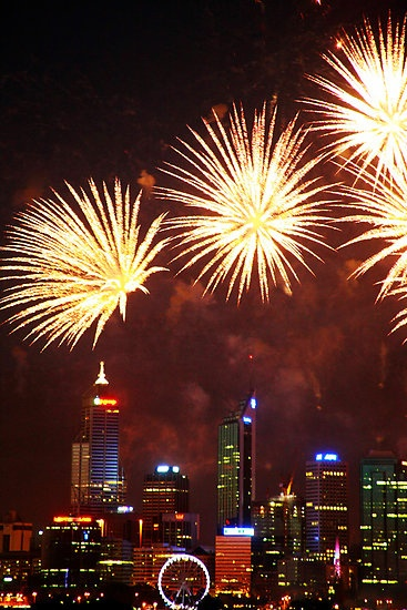 Perth My Home Town A Very Old Photo But I Still Love It Perth Skyshow Westernaustralia Austral Australia Day Perth Western Australia Western Australia
