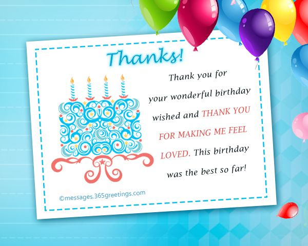 Thank You Message For Birthday Wishes On Facebook 365greetings Com Birthday Wishes Reply Islamic Birthday Wishes Birthday Wishes