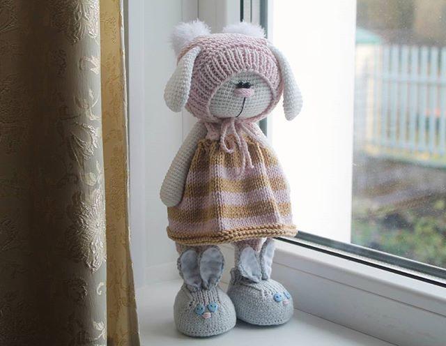 WEBSTA @ isaeva_toys - Это Ляля  очень застенчива, мила и совсем малышка - 27 см (Автор идеи Бэла Макаева)
