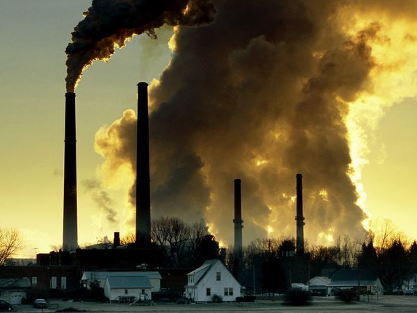 The gas responsible for the most warming is carbon dioxide, also called CO2.