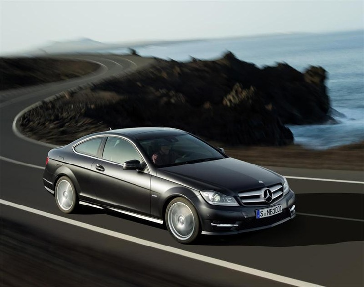 2012 Mercedes C250 Coupe!! I want this!! Me and Hailey would be cute driving it! Lol