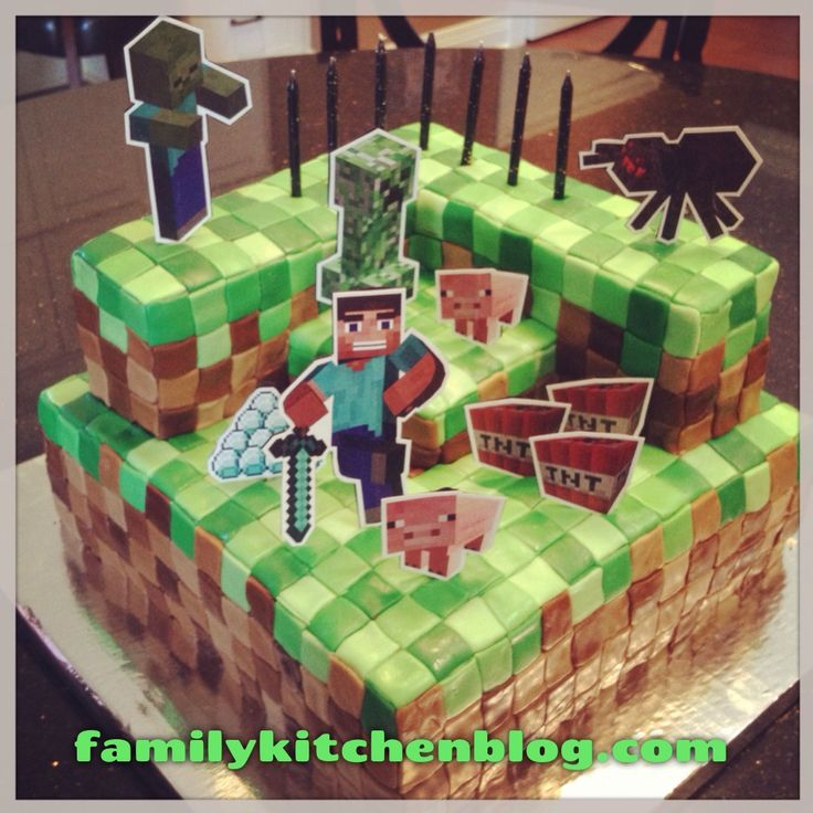 65 best Fondant images on Pinterest Minecraft party Minecraft