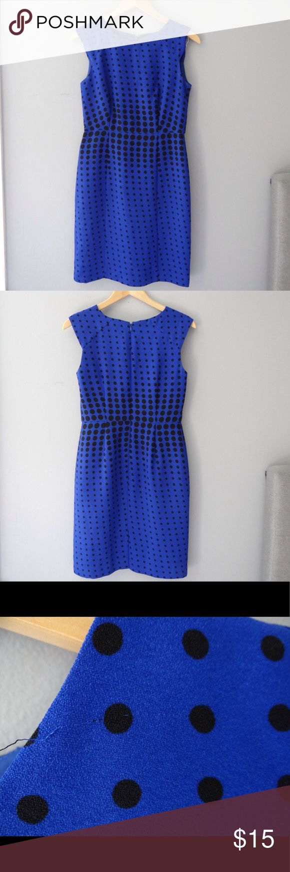Ann Taylor factory sleeveless dress Pre loved Ann Taylor factory linned sleeveless dress. Ann Taylor Factory Dresses