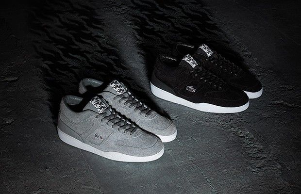 Lacoste live x footpatrol collaborate on exclusive sneakers