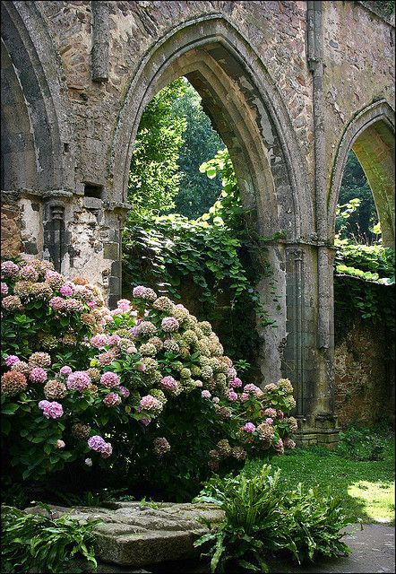 Beauport Abbey near Paimpol, Brittany, France