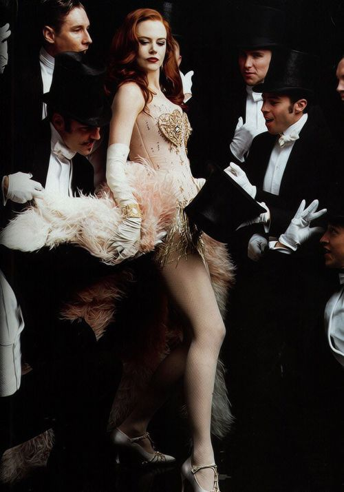 "Nicole Kidman as Satine in "" Moulin Rouge"""