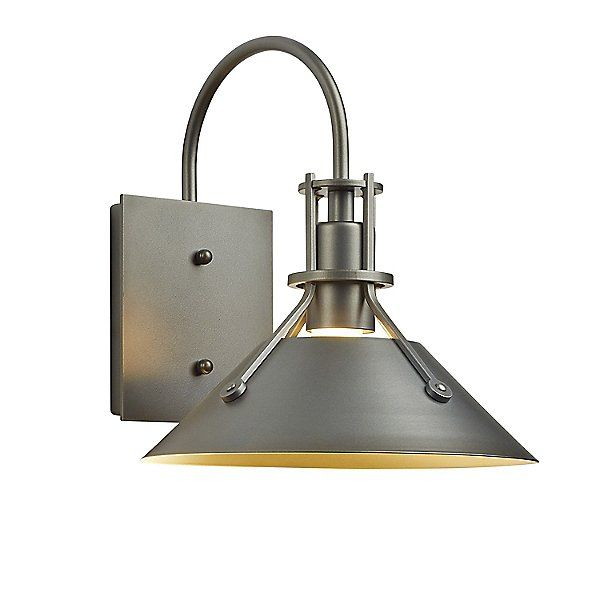 Hubbardton Forge Henry Outdoor Wall Sconce 302712 1007 Size