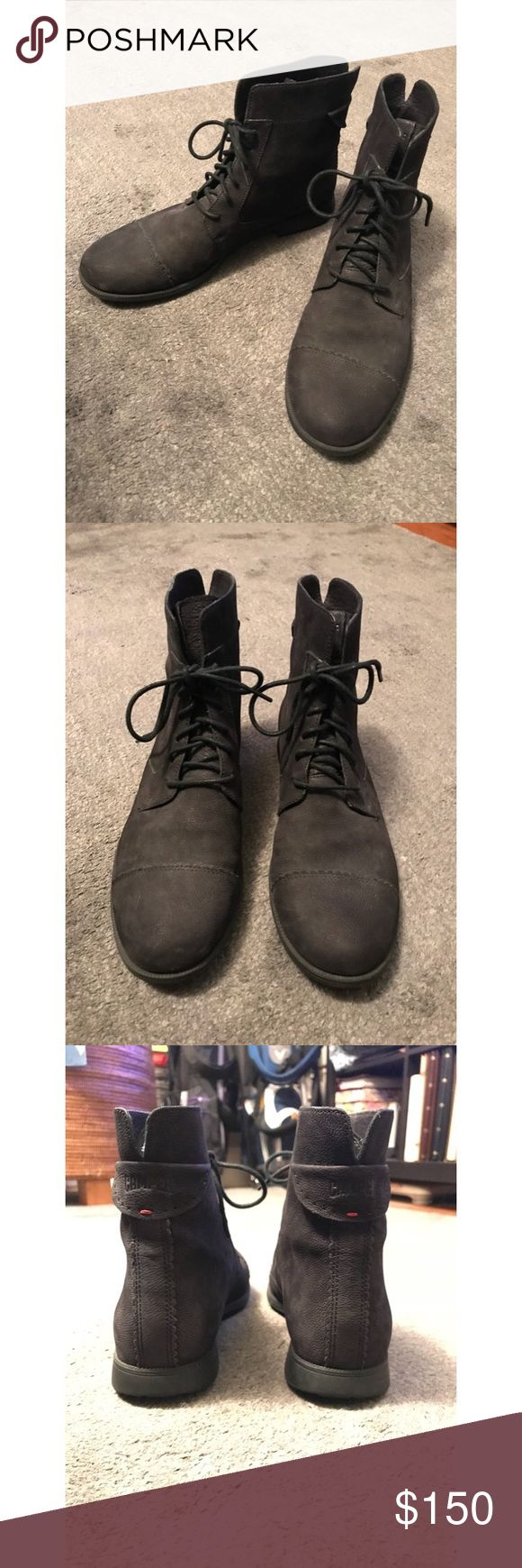 Women's Camper Boots - Bowie K400022 Brand new, black lace up boots. Camper Shoes Ankle Boots & Booties