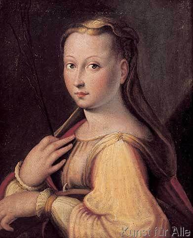 Barbara Longhi - Die Heilige Katharina von Alexandrien