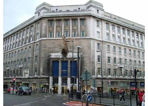 Lewis's Department store.  Liverpool.