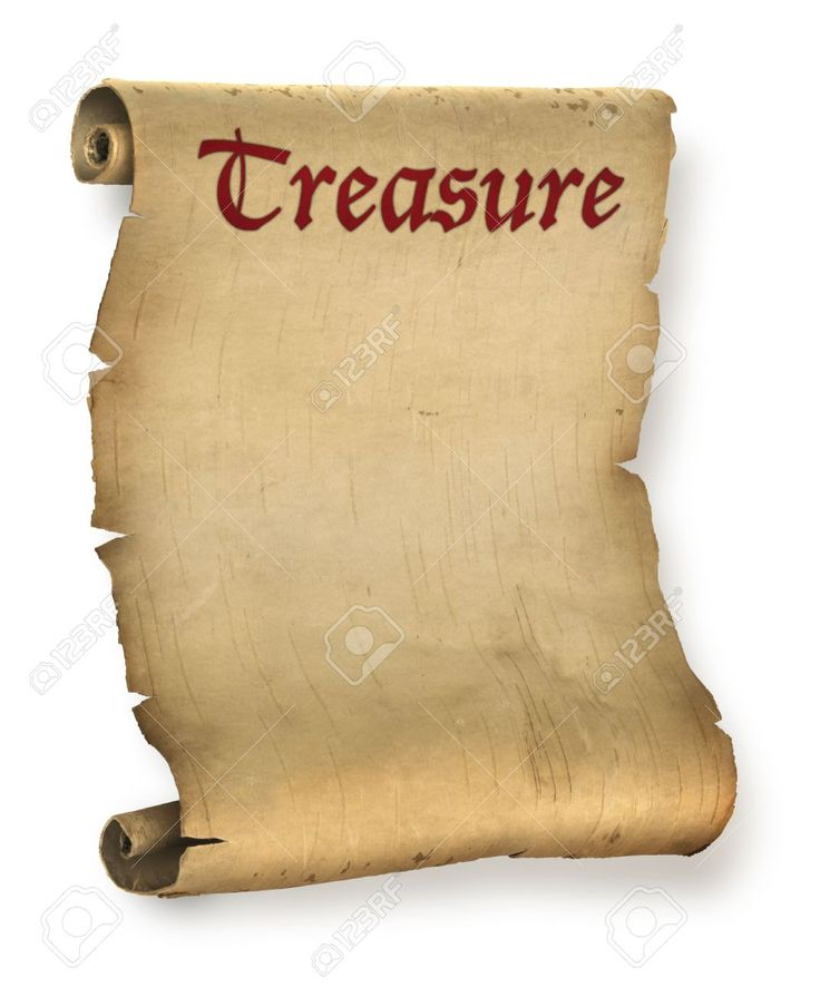 Old Ragged Treasure Map Oder Pergament Dokument Roll Lizenzfreie Fotos, Bilder Und Stock Fotografie. Image 6704326.