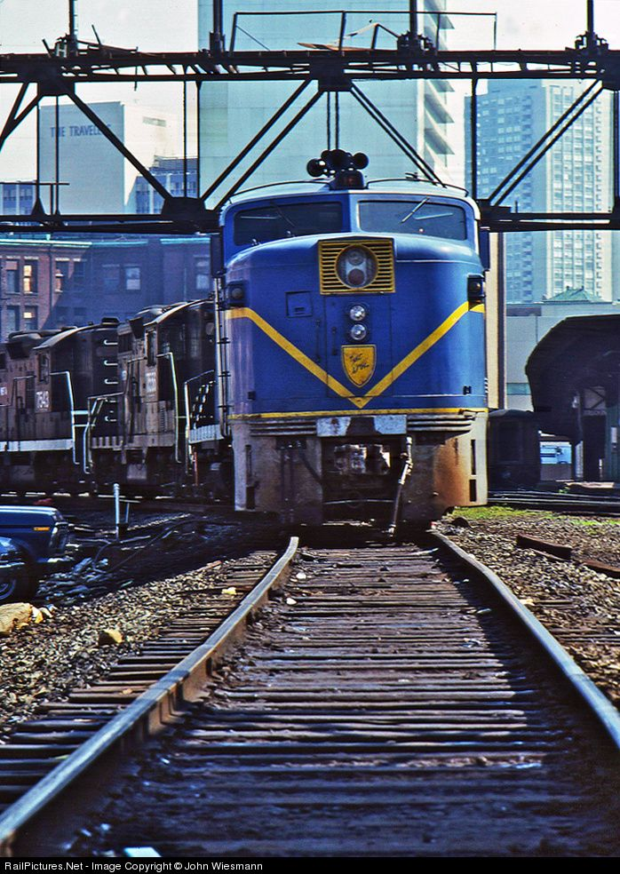 RailPictures.Net Photo: 16 Delaware & Hudson ALCO PA1 at Boston, Massachusetts by John Wiesmann